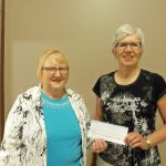 Lenore WI makes Donation
